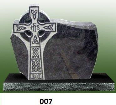 American Granite Tombstones P200244B