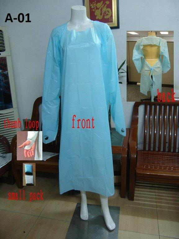 disposable impervious gown